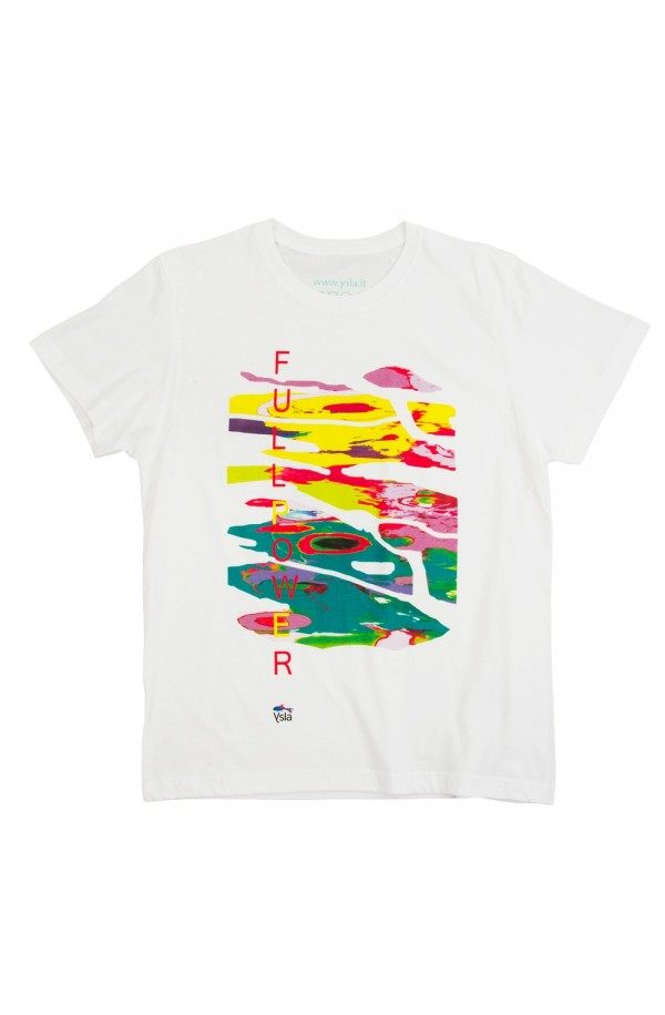 "T-shirt ""Fullpower"" 100% cotton, made in Italy"