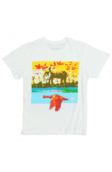 """T-shirt """"Ancient origin"""" in 100% cotone, made in Italy"""