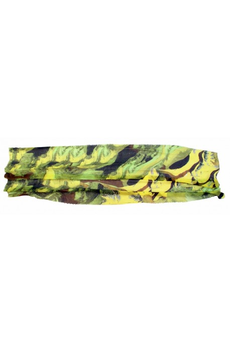 """Scarf in modal and cachemere theme """"Cantabria"""", made in Italy"""