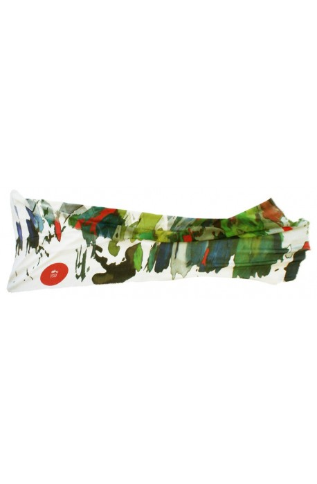 """Scarf in modal and cachemere theme """"Berlin"""", made in Italy"""