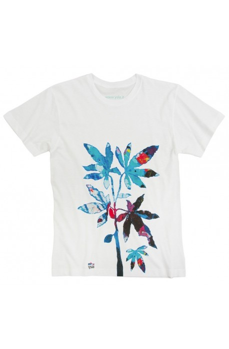 """T-shirt """"Smart plant"""" 100% cotton, made in Italy"""