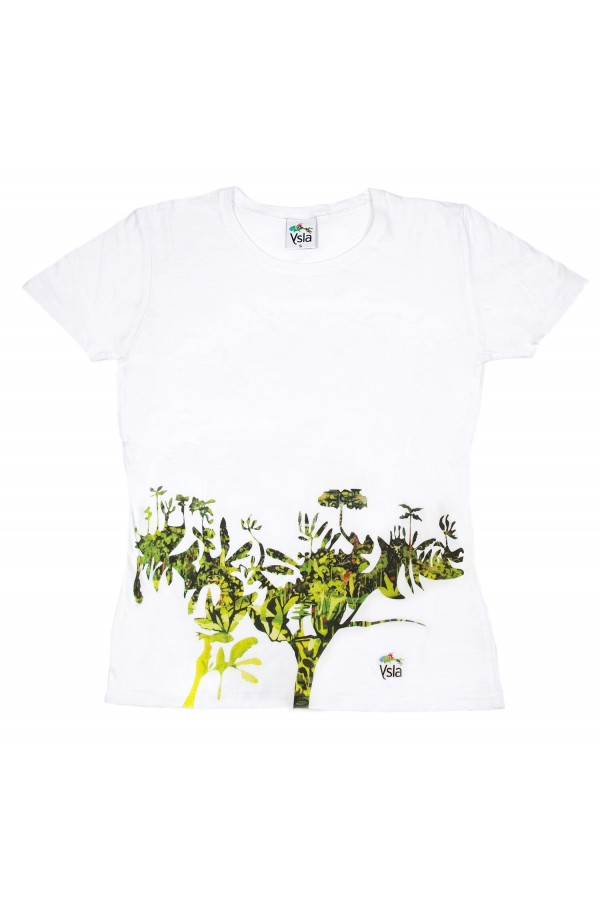 """T-shirt """"The wise tree"""" in 100% cotone, made in Italy"""