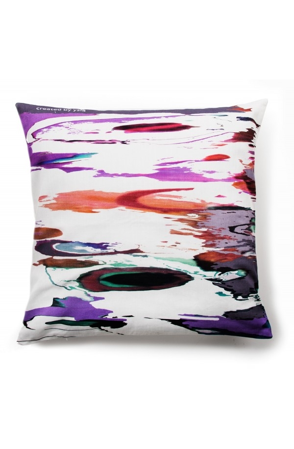 "Pillow ""Tanger i"" in 100% cotton, made in Italy"