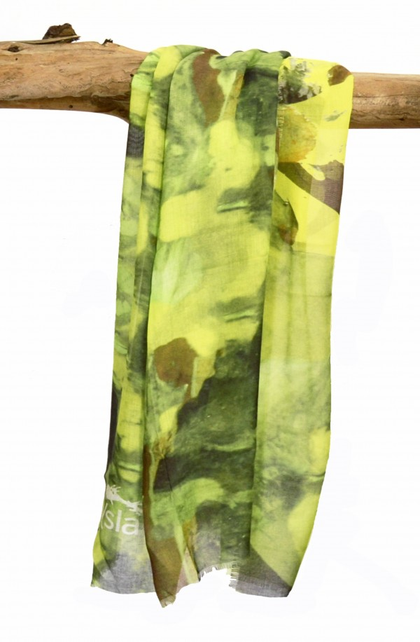 """Scarf """"Cantabria"""" in modal and cashmere, made in Italy"""