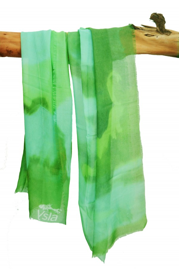 "Scarf in modal and cachemere theme ""Madeira"", made in Italy"
